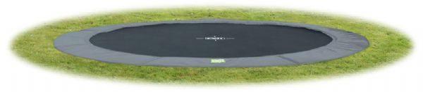EXIT InTerra trampolin Ø366 grå - Exit trampolin 102112