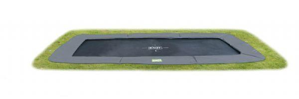 EXIT InTerra trampolin 244x427 grå - Exit trampolin 102614