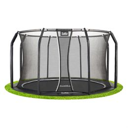 Salta trampolin med net - Royal Baseground Inground - Ø 396 cm