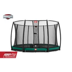 Berg Champion InGround 430cm + Safety Net Deluxe Trampolin Til Nedgravning