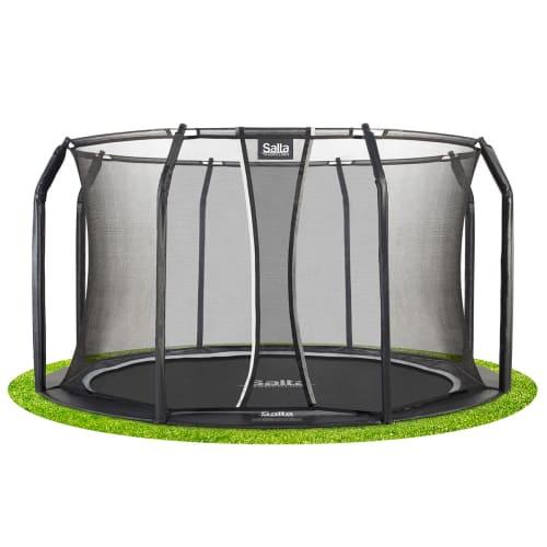 Salta trampolin med net - Royal Baseground Inground - Ø 305 cm