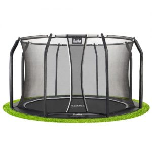 Salta trampolin med net - Royal Baseground Inground - Ø 366 cm
