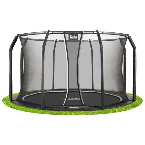 Salta trampolin med net - Royal Baseground Inground - Ø 427 cm