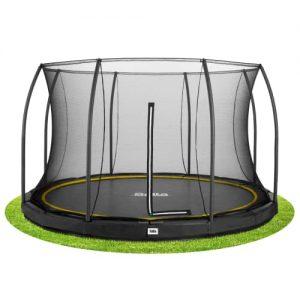 Salta trampolin med net - Comfort Inground - Ø 396 cm